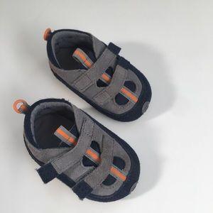 Suede baby boy shoes
